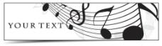 音符banner