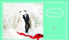 婚礼现场新人迎宾照片图片