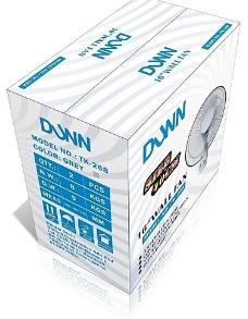 DUNN壁扇彩盒包装 CDR