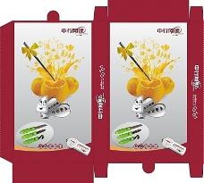 中国银行彩盒设计