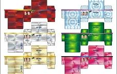 护肤系列彩盒设计