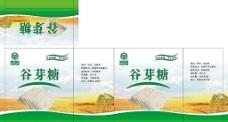 谷芽糖彩盒