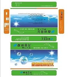 韩国太阳能控制仪彩盒