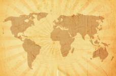 抓垃圾世界地图背景