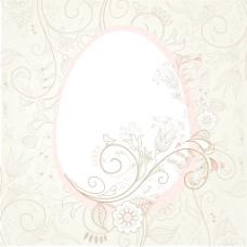 复活节蛋花的元素—