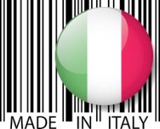 意大利条码矢量图解
