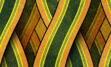 黄绿色纹理AE模板