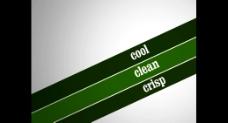 绿色展示AE模板