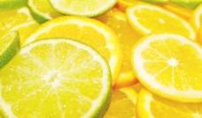 柠檬水果背景