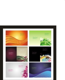 宣传单彩页模板设计排图片