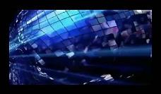 科幻人物光效背景视频