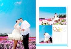 情侣浪漫温馨结婚照图片