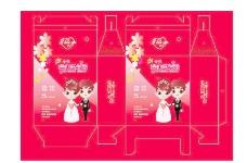 结婚礼盒图片