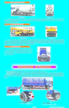 车身反光标识与汽车防护装置示例图