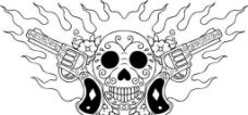 骷髅图案设计图片