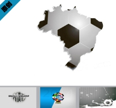 足球世界杯ppt模板下载