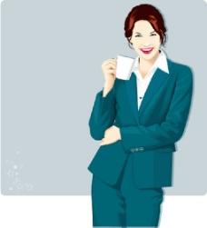 职场的女性