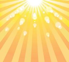 阳光背景矢量素材2