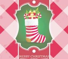 精美圣诞贺卡背景矢量素材1