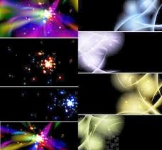 炫彩光效背景素材