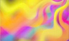 绚丽霓虹背景矢量素材3