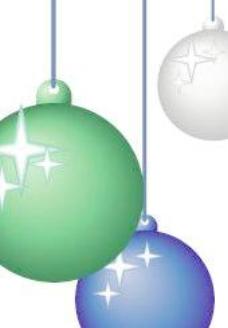 圣誕掛飾之飾品矢量圖29