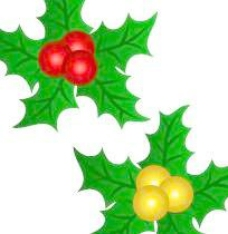 圣诞饰品之叶片矢量图12