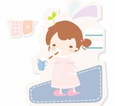 最新韩国矢量卡通素材325
