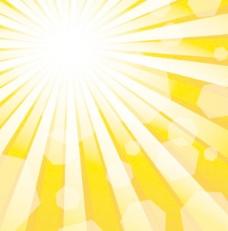 阳光背景矢量素材1