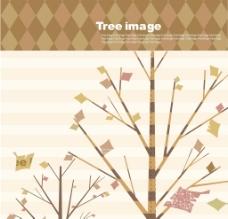 韩国卡通树时尚元素矢量素材21