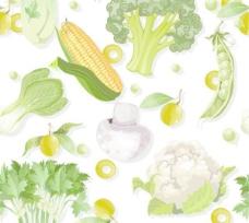 蔬菜背景矢量素材2