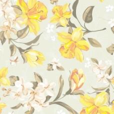鲜花花纹背景矢量素材1