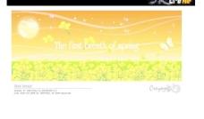 最新韩国秋天风景矢量图06