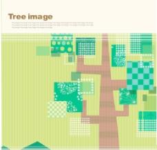 韩国卡通树时尚元素矢量素材28