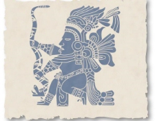 印第安民族纹样背景矢量素材3