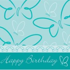 生日快乐 蝴蝶牌