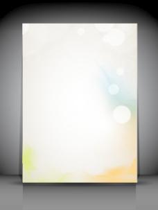 专业的商业传单模板或公司的旗帜 你的文本空间设计