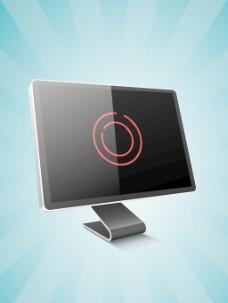 摘要三维统计背景的经营理念在监视器屏幕