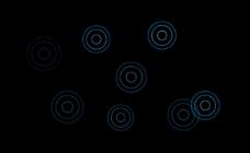 圆圈冒泡qq空间透明flash素材