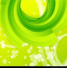 摘要绿色背景矢量的。