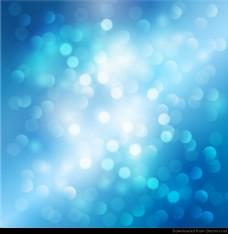 蓝色的光背景的。