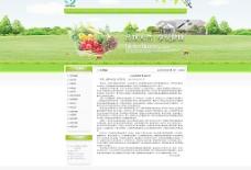 绿色网站详情页图片