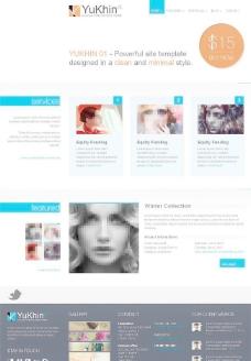 HTML5模板下载图片