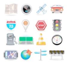 道路交通ICON图标图片