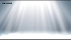 倾泻的白光