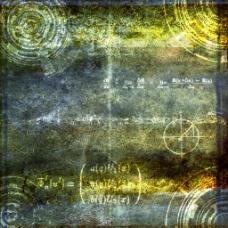 写满粉笔字的黑板为屏幕背景的AE展示模板