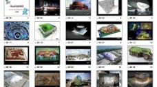 2010年千姿百态的世博会场馆 上海世博会图片