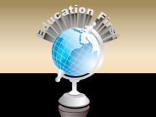 环球教育背景