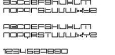 Nec plus ultra 英文字体下载