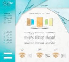 网站网页设计模板图片